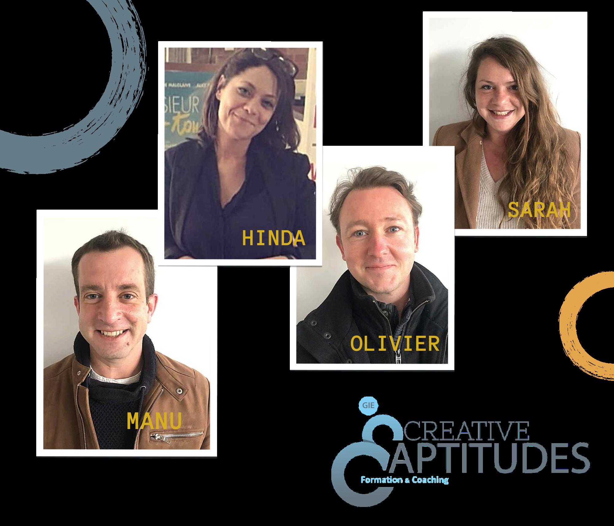 L'équipe Creative Aptitudes